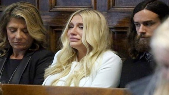 Kesha, after hearing the verdict of her injunction